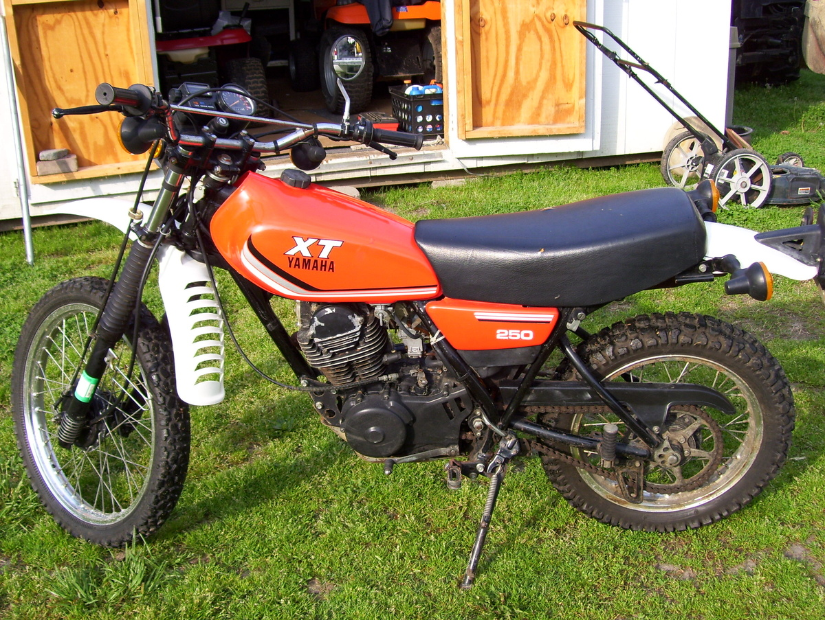 1981 or 1982 XT Yamaha 250 | Collectors Weekly