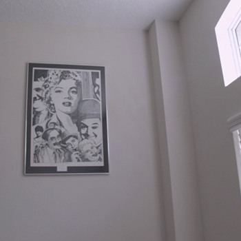 Beautiful Marilyn Monroe Signed, numbered print by Donald Lamp