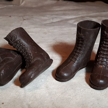 Vintage GI Joe Tall Brown Boots 1964-1975 - Toys