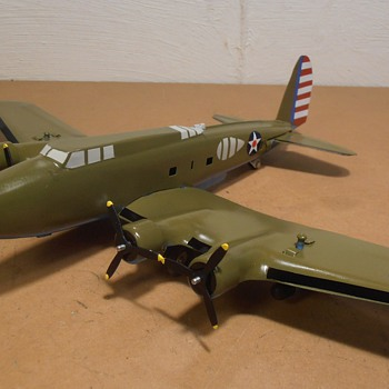Boeing B-17D Pressed Steel Marx Conversion for Texas Museum