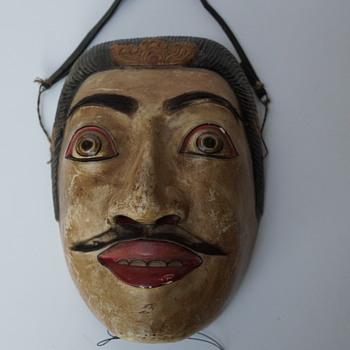 mask - balinese? - Fine Art