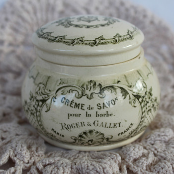 Roger & Gallet Creme De Savon - stoneware jar with lid need age of possible - Accessories