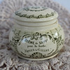 Roger & Gallet Creme De Savon - stoneware jar with lid need age of possible
