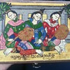 Mistery Wooden jewelry box Geisha Hand Painted