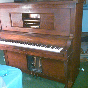 HARMOTONE PLAYER PIANO - Music Memorabilia