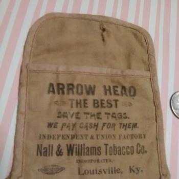 Arrowhead Tobacco Bag - Tobacciana