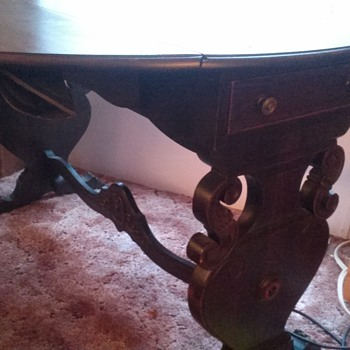 Meek's & Son's Rosewood table