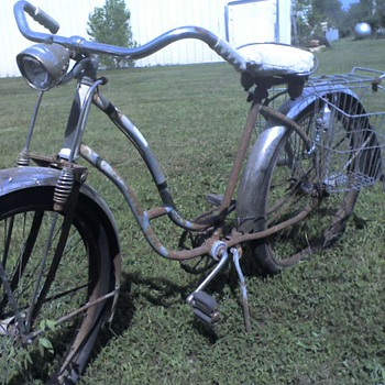old bicycle - Sporting Goods