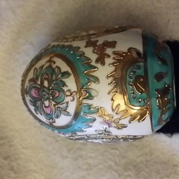 Porcelain Egg - Pottery
