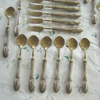 Antique Solinger Cutlery - Silver