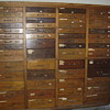 Antique Oak Tool Cabinet (56 Drawers)