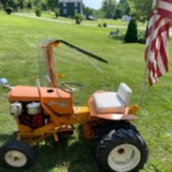 INFO  on a 1960 Simplicity 700 Garden Tractor - Tractors