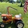 INFO  on a 1960 Simplicity 700 Garden Tractor