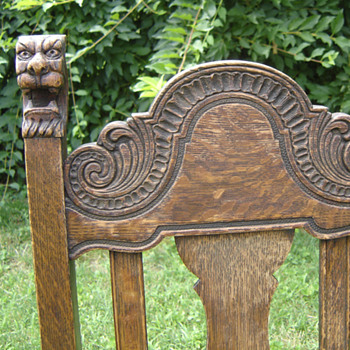 lion's head dining chairs - Furniture
