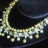 Fabulous Vintage Kraemer Rhinestone , Faux Pearl + Bead Necklace