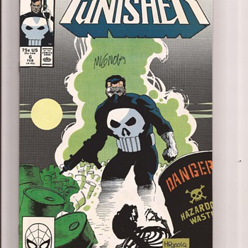 The Punisher fav covers