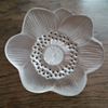 Lalique Anemone crystal flower