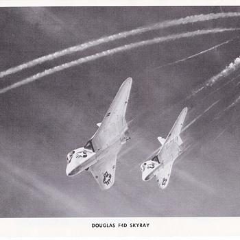Douglas Aircraft Series Skyray and Skyrocket - Advertising