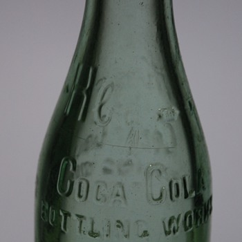 Mystery Vintage Cola Cola Bottle? - Coca-Cola