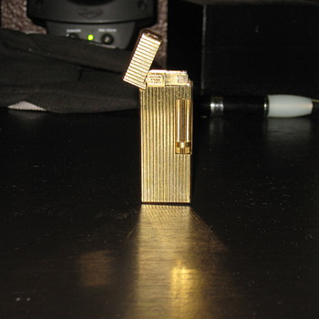 "Antique gold lighter ""need some advice - Tobacciana"