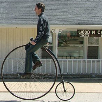 1885 Victor high-wheeler - Sporting Goods