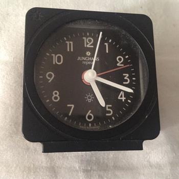 "1980's German Junghans ""Reapeat"" alarm clock. - Clocks"