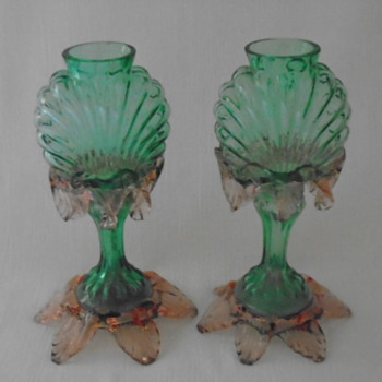 Welz Translucent Glass Vases - Art Glass