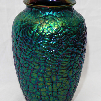Loetz Phanomen Genre 377 vase - Art Glass