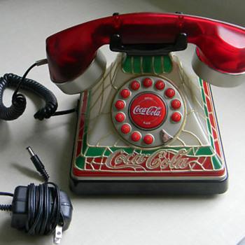 COCA COLA TIFFANY PHONE - Coca-Cola