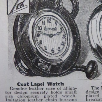 Lapel  watch adverts from Dave - Advertising