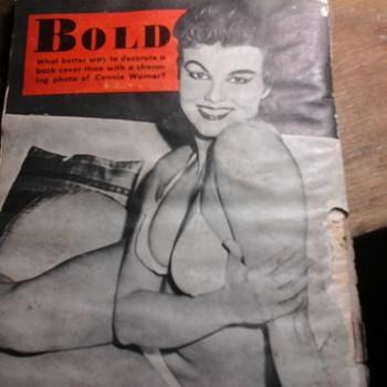 1957 Bold Magazine  - Paper