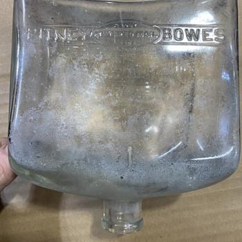 Pitney bowes bottle. Pretty cool.  - Bottles