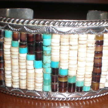 Zuni(?) Hishi Bead Bracelet - Native American