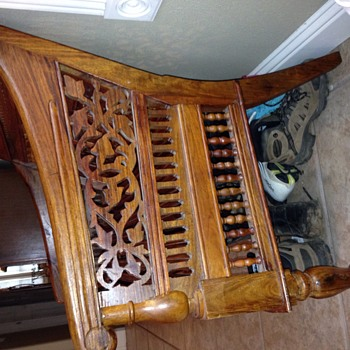 Carved bench - Furniture