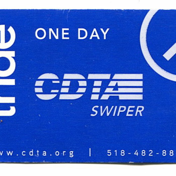 Bus Day Pass - Paper