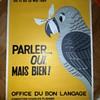 French Language Poster Art 1964