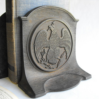 Heavy Eagle Bookends - Books