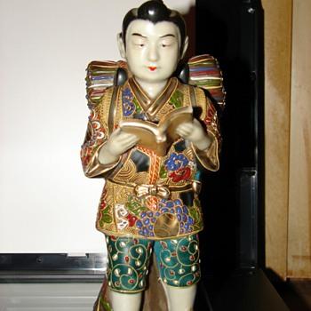 Japanese porcelain statue