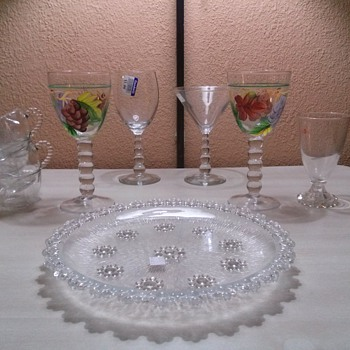 goodwill candlewick - Glassware