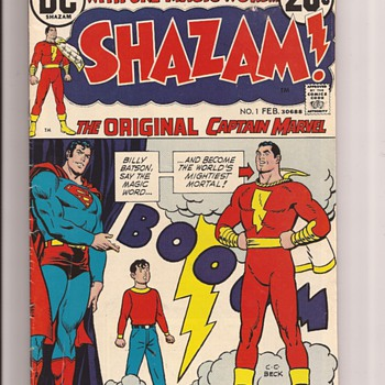First Issue Favourites - Comic Books