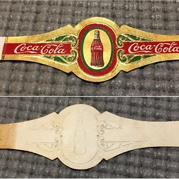 1933 Coca-Cola Cigar Band - Coca-Cola