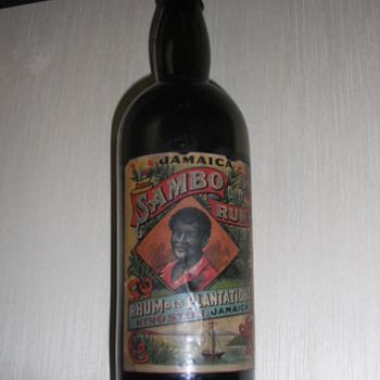 Old Sambo Rum Bottle - Bottl