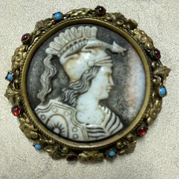 Cameo Brooch 1887? - Fine Jewelry