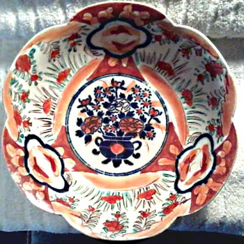 "10 "" Japanese  ""Imari"" Bowl / Circa 19th Century - Asian"