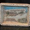 Mission San Miguel - Trinket Tray Memento signed by Colin Reid
