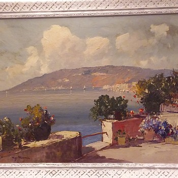 Vintage Estate Painting - Fine Art