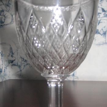 antique wine glasses - Glassware