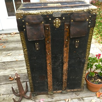 Amand Pasquier Antique French Trunk - Furniture