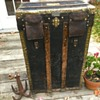 Amand Pasquier Antique French Trunk