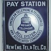 AT&T New England Tel & Tel Pay Station Sign